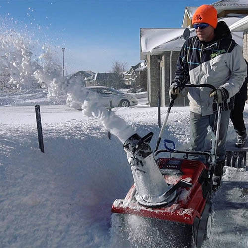 Residential Winter Snow Removal North Bay